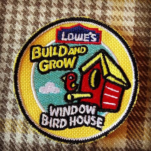 We built birdhouses today :)