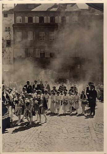 bolzano - processione anni 40