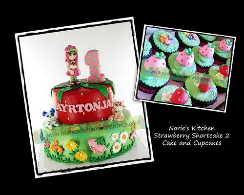 Norie's Kitchen - Strawberry Shortcake 2 - Cake by Norie's Kitchen