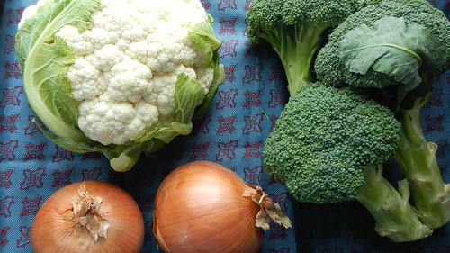 Cream of Cauliflower and Broccoli 1