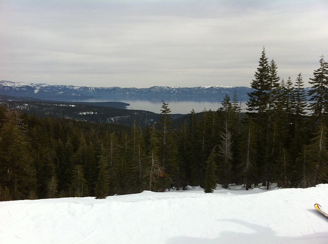 Snowboarding Squaw Valley and Alpine Meadows