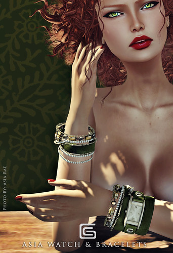 GizzA - Asia Watch&Bracelets Poster by Asia Rae Photo Studio