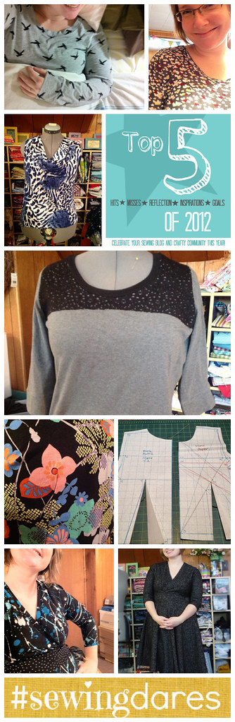 Holiday Sewing Collage
