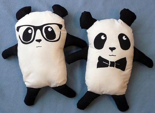 Homemade Plush Panda