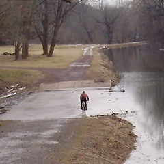 3. Towpath Bike Ride, Feb 2013