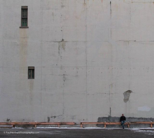 Blank canvas by Paul Henman