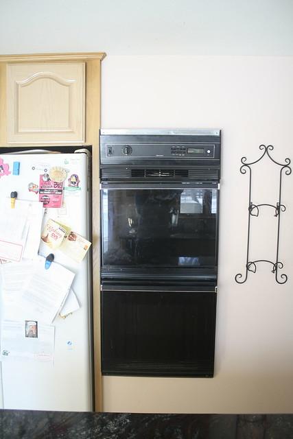 Goodbye old oven!