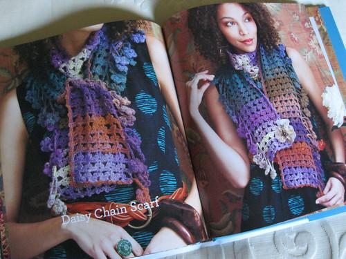 Crochet Noro - Daisy Chain Scarf