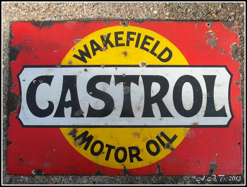 Castrol Oil Tin Plate Sign