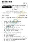 UPTU B.Tech Question Papers -LT-804 - Computer Aided Leather Products Design