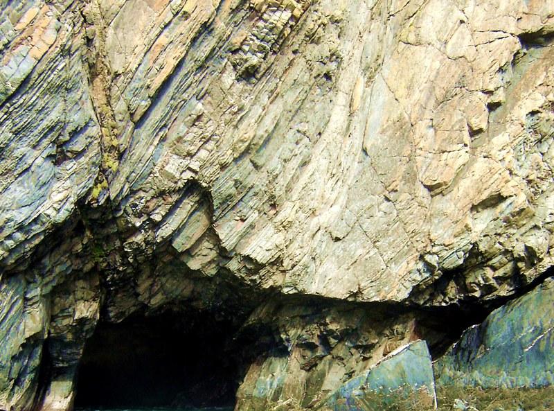 Ramsey Island stone cliff