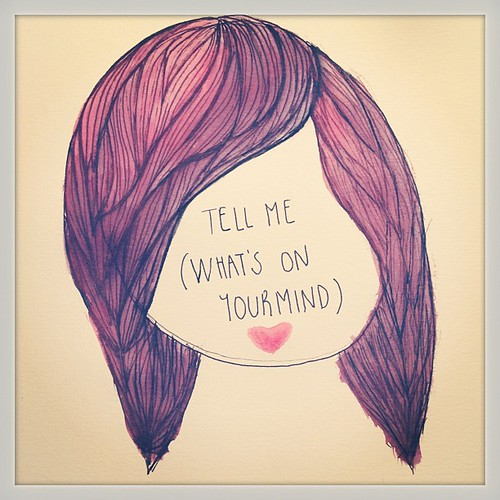 *Tell me (what's on your mind)* mini homenaje a @allahlas ❤❤❤