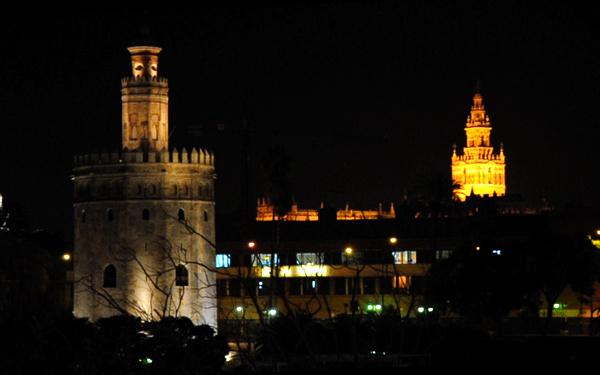 Torre del Oro y Giralda