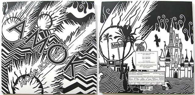 AMOK vinyl front and back