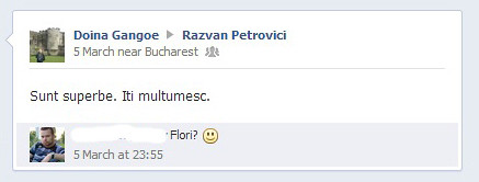 print screen gangoe petrovici facebook
