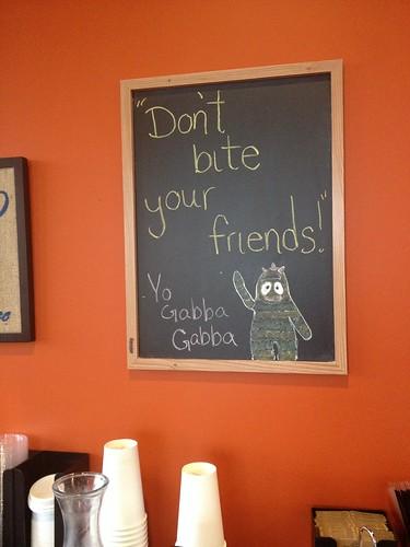 don't bite your friends! by telfandrea