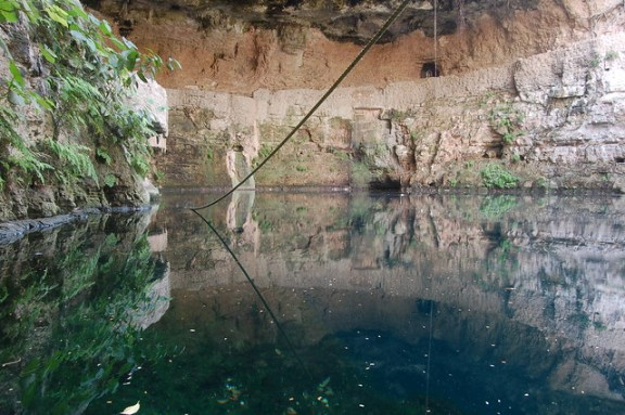 mirror landscapes, cenote