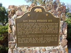 California Historical Landmark No. 59 - San Diego Presidio Site by jawajames