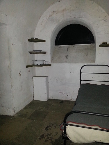 Ghost Hunt at Galleries of Justice - Inside the Hanging Cell