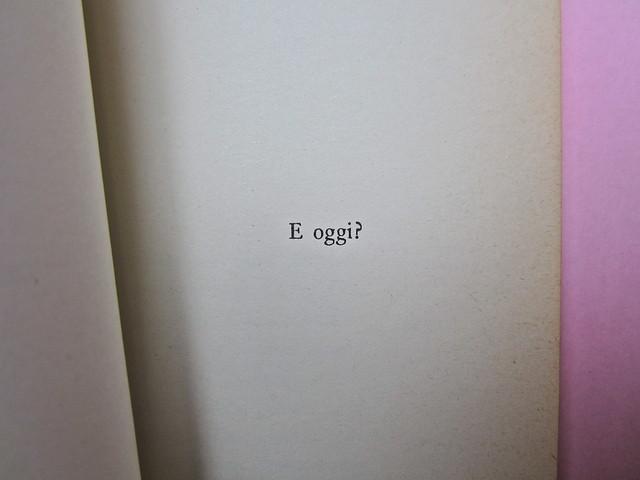 Roland Barthes, Il grado zero della scrittura. Lerici editori 1960, [progetto grafico di Ilio Negri?]. Pagina 9 (part.), 1