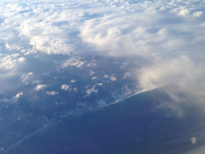 Flying South from Hokkaido