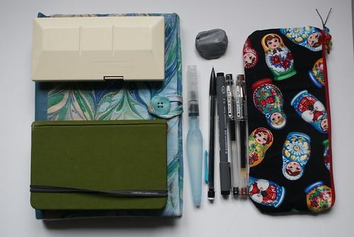 Outdoor sketch kit