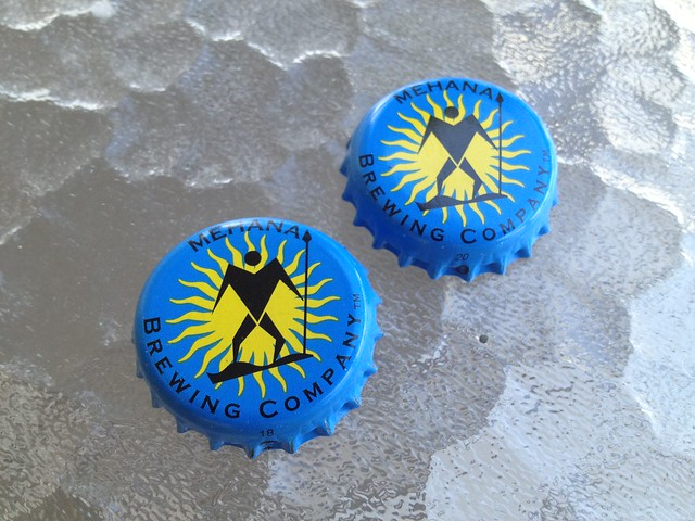 Mehana Brewing Company bottle caps