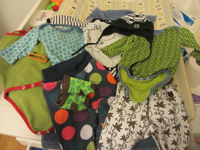 Axplock Sanderkläder, 4 månader