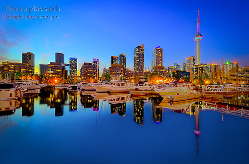 Big City Lights (Not My Image) by Eric B. Walker
