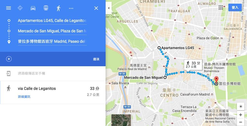 馬德里住宿周邊