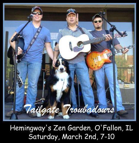 Tailgate Troubadours 3-2-13