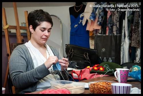 knitting school - higher level