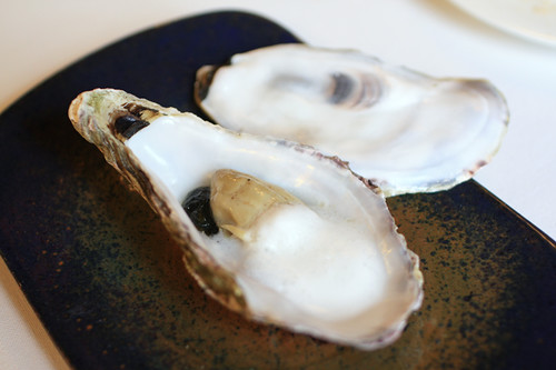Course 5: Oyster with seaweed