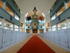 Happy Sunday ! The interior of Røros church, Norway