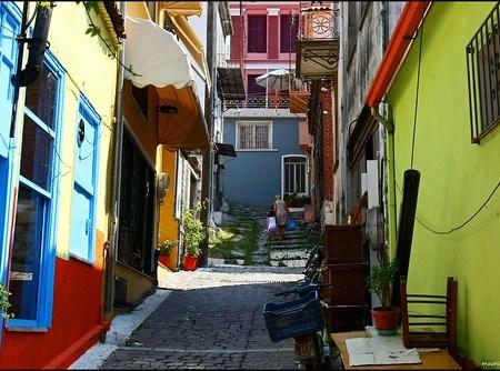 """Ruelle à Agiásos dans l'île de Lesbos (photo sélectionnée par Explore)   Thank you all for your """"fav"""" and comments"""