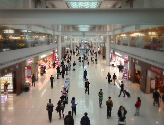 Another one from Incheon airport. Somehow, I did not feel mall fatigue shopping here