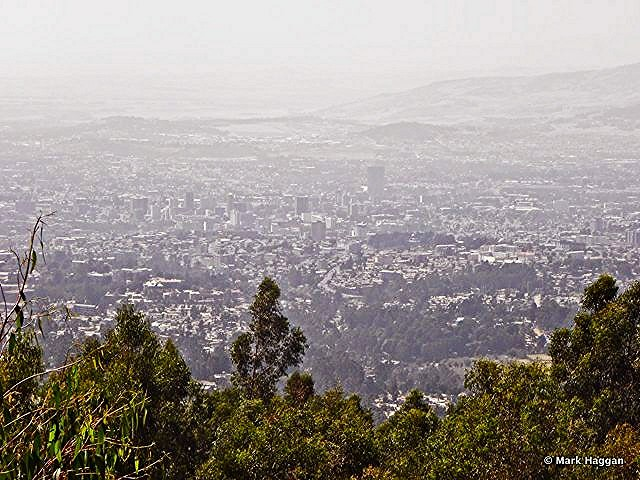 The view from Menelik Palace, near Addis Ababa