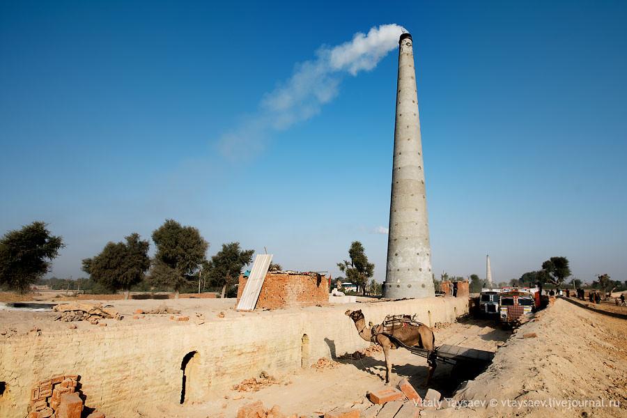 Brick factory, Rajhastan