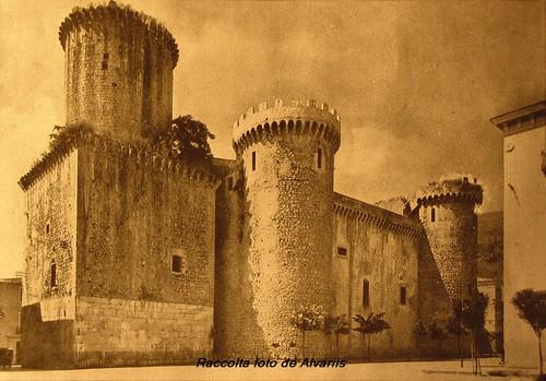 1940 ca Il Castello del XIV sec. Fondi