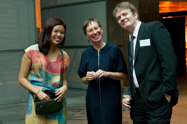 Chinese New Year Celebration function at NGV - Water Painting by Bee 5 Feb 2013