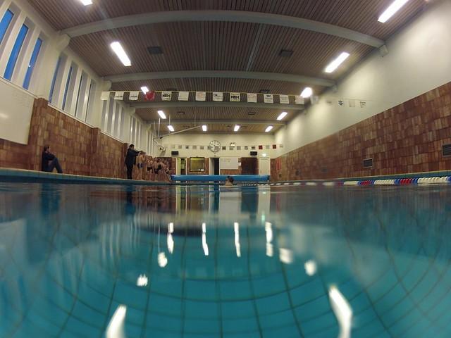 Swim School class at Toftir, Faroe Islands