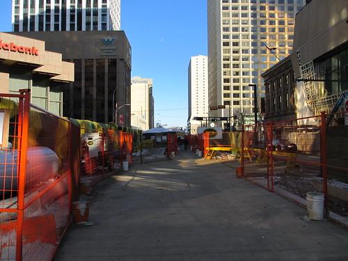 Central LRT Station Construction