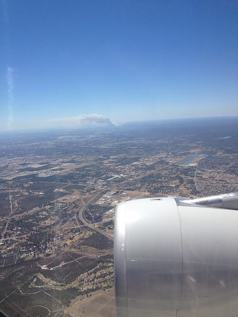 Bush Fire from the Plane