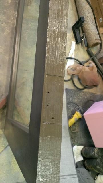 Plywood Door - Paint