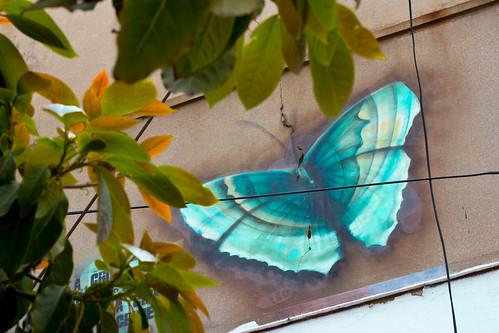 Pintada en Valparaíso