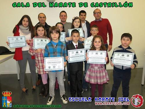 Foto de grupo de la Gala del Karate de Castrillón