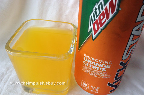 Mountain Dew Energizing Orange Citrus Kickstart