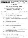 UPTU B.Pharm Question Papers PH-361 - Pharmaceutical Chemistry-V (Medicinal Chemistry-I)