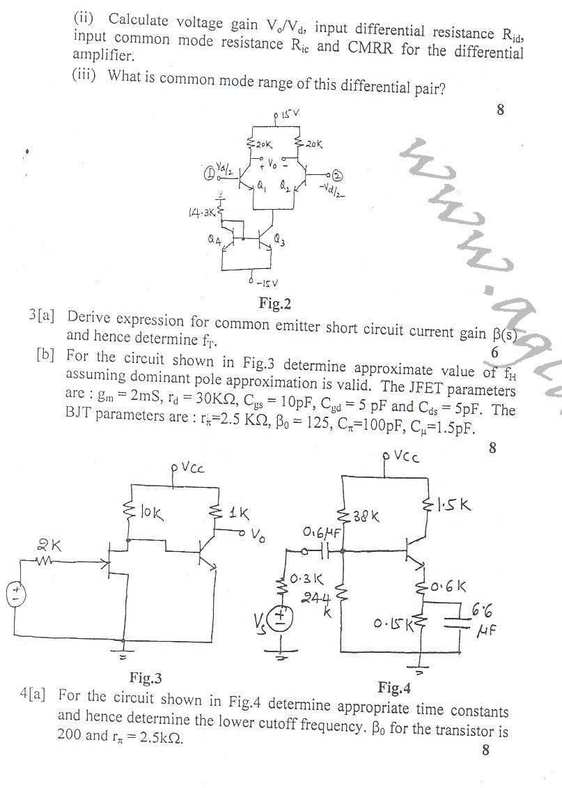 NSIT: Question Papers 2010 – 4 Semester - End Sem - COE-EC-EE-ICE-211