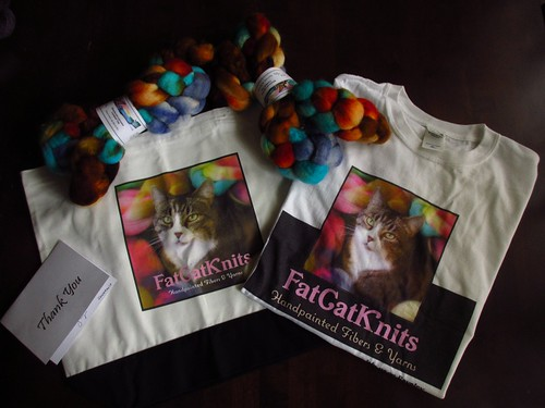FatCatKnits Thank you pack